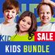 Kids T-Shirt Bundle Mockups - GraphicRiver Item for Sale