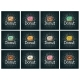 Set Donut with Different Icing - GraphicRiver Item for Sale