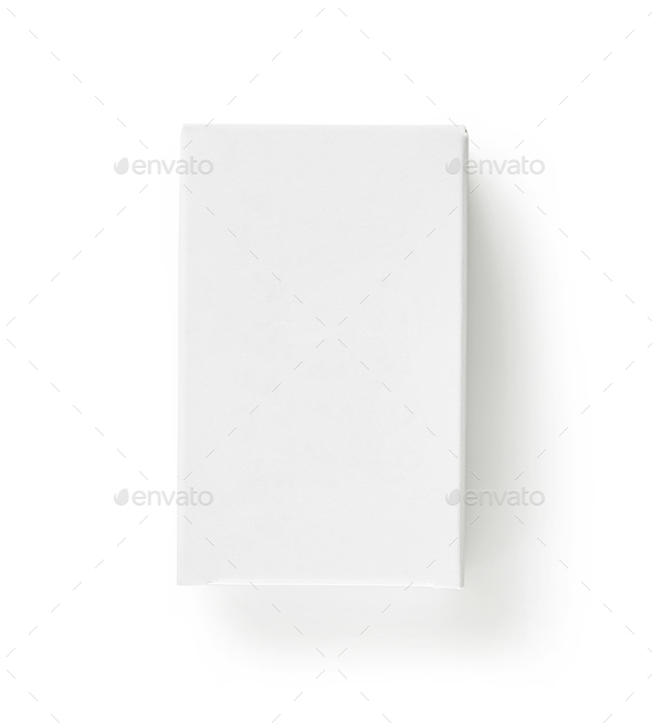 white paper box - Stock Photo - Images