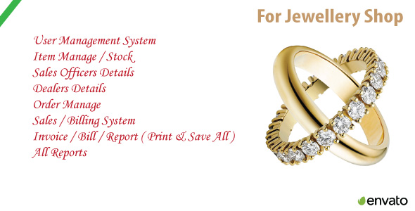 Jewellery Shop | Sales & Order Management Easy Software - CodeCanyon Item for Sale