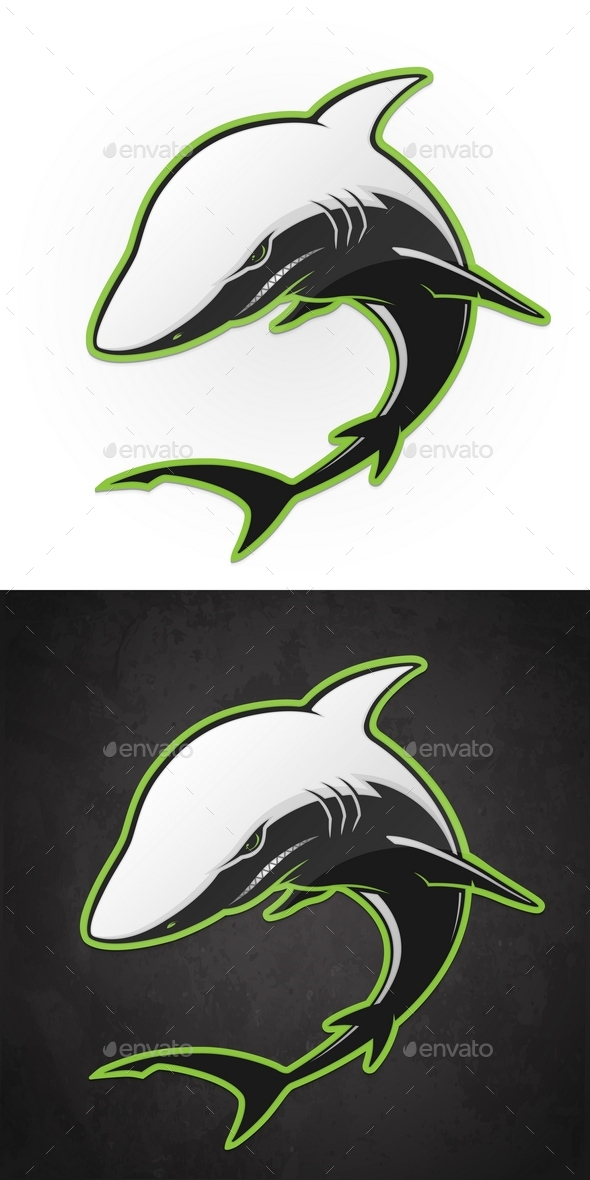 Vector Shark - Animals Characters