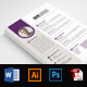 Word Resume CV Template - GraphicRiver Item for Sale