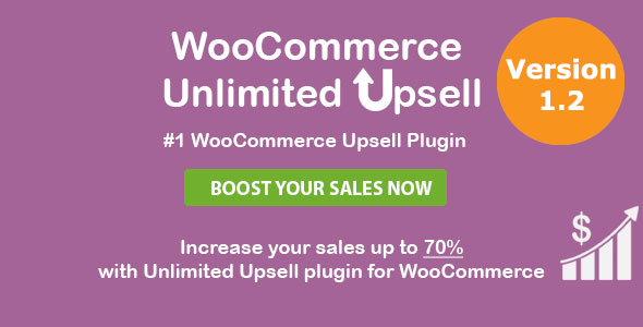 Download WooCommerce Unlimited Upsell & Cross sell nulled codecanyon cover