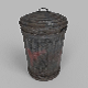 TRASH CAN LOW-POLY - 3DOcean Item for Sale
