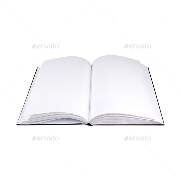 Book Isolated - Stock Photo - Images