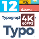 Typography - VideoHive Item for Sale