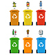 Trash Bags Set Vector - GraphicRiver Item for Sale