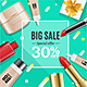 Cosmetic Sale Banner Card - GraphicRiver Item for Sale