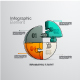 Set of 4 Infographic Elements Templates - 2