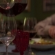 The Waiter Pours the Wine Into the Glass From Decanter Wine - VideoHive Item for Sale