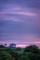 Secluded Cornish house at dusk - PhotoDune Item for Sale