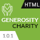 Generosity - Charity, Fundraising & Non-Profit HTML5 Template - ThemeForest Item for Sale