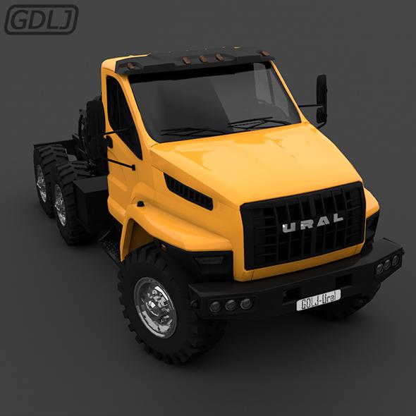 Ural Next Truck 2016 - 3DOcean Item for Sale