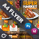 Supermarket Promotion Flyer Templates - GraphicRiver Item for Sale