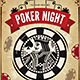 Vintage Poker Night Flyer - GraphicRiver Item for Sale