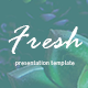 Fresh - Keynote Presentation Template - GraphicRiver Item for Sale