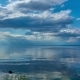 Video Landscape - Sky, Clouds, Large Lake, Horizon - VideoHive Item for Sale