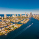 Aerial view of Surfers Paradise on the Gold Coast, Queendsland, - PhotoDune Item for Sale