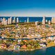 Aerial image of Surfers Paradise and Southport on the Gold Coast - PhotoDune Item for Sale