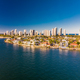 Aerial view of Surfers Paradise and Southport on the Gold Coast, - PhotoDune Item for Sale