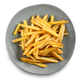 plate of french fries  - PhotoDune Item for Sale