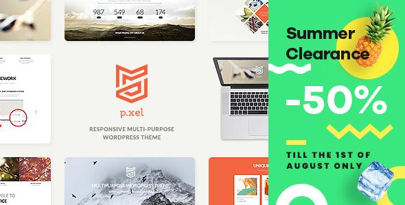 Pixel | Multipurpose WordPress Theme - Business Corporate