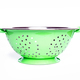 Green colander on white background - PhotoDune Item for Sale