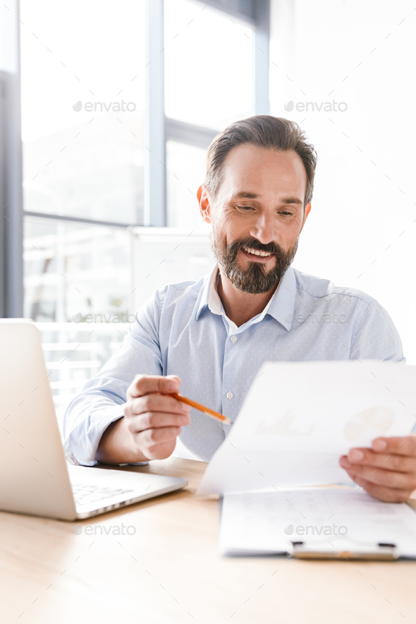 Successful man manager - Stock Photo - Images