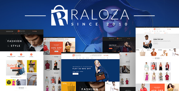 Raloza - Fashion Responsive PrestaShop Theme