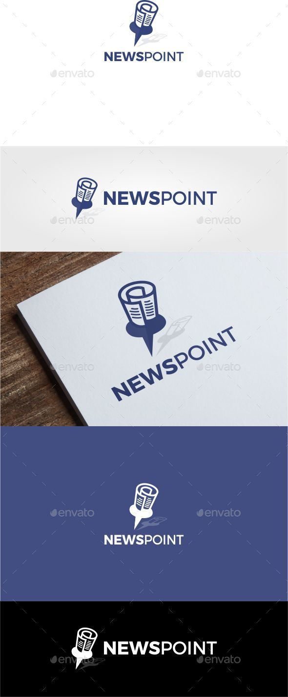 NewsPoint  logo - Symbols Logo Templates