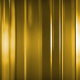Abstract Golden Thin Glass Panels