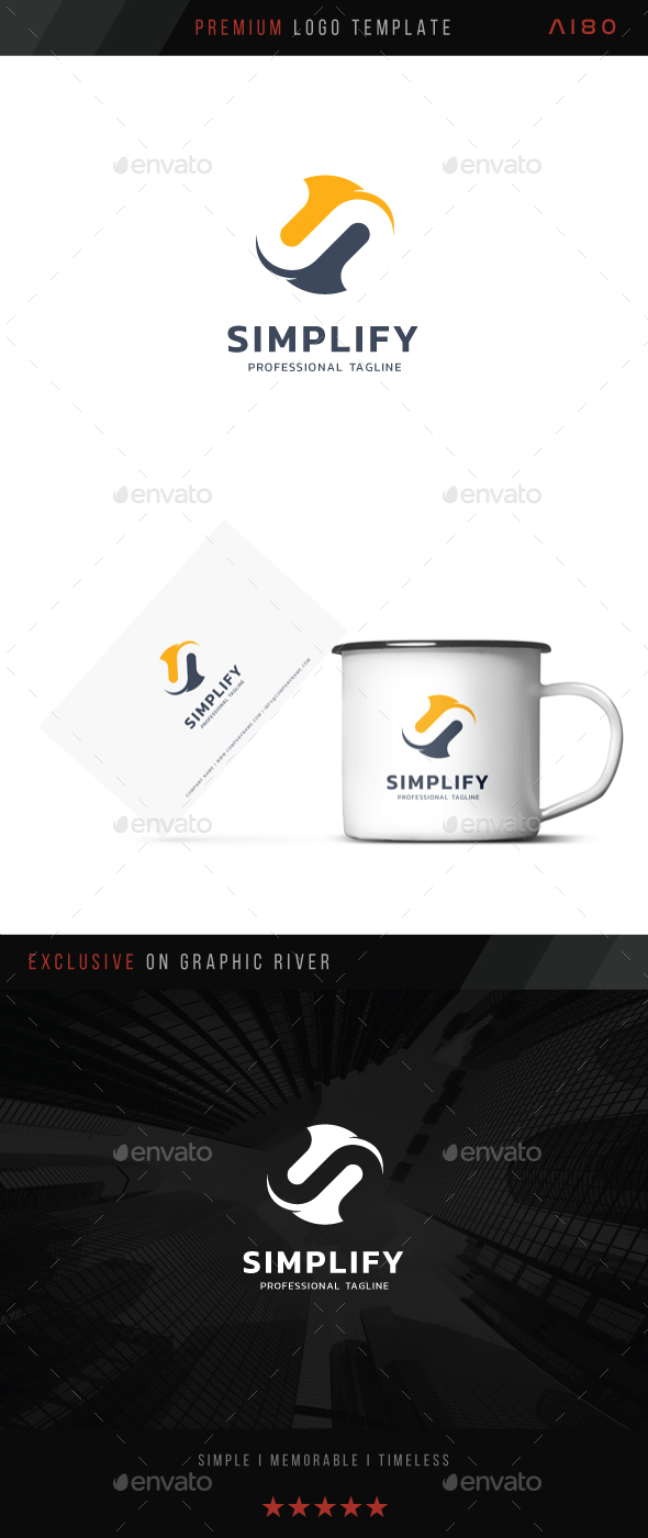 Simplify Logo - Letters Logo Templates
