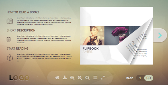 Flipbook WordPress Plugin Ambre (Media)