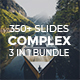 Complex Bundle 3 in 1 - Creative & Minimal Keynote Template - GraphicRiver Item for Sale