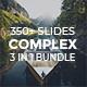 Complex Bundle 3 in 1 - Creative & Minimal Keynote Template