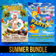 Summer Bundle V4 - GraphicRiver Item for Sale
