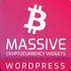 Massive Cryptocurrency Widgets