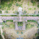 Aerial top view of abandon building in the forest - PhotoDune Item for Sale
