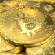 Gold Coins Cryptocurrency Bitcoin Spinning - VideoHive Item for Sale
