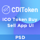 CDI Token - ICO Token Buy/Sell App - GraphicRiver Item for Sale