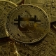Many Bitcoins Are Spinning in a Circle Counterclockwise. - VideoHive Item for Sale