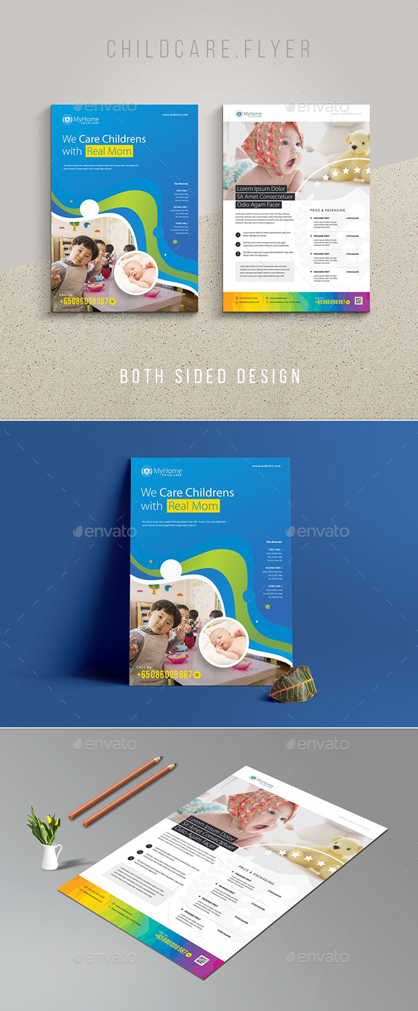 Childcare Maternity Flyer - Corporate Flyers