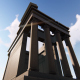 3D Greek Temple - VideoHive Item for Sale