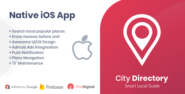 City Directory iOS Native App            Nulled