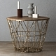 Wire Baskets & Side Tables by Ferm Living - Brass