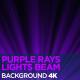 Purple Rays Lights Beam 4K