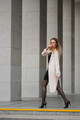 beautiful blonde girl in the street - PhotoDune Item for Sale