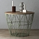 Wire Baskets & Side Tables by Ferm Living - Mint