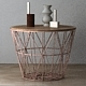 Wire Baskets & Side Tables by Ferm Living - Rose