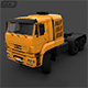 Kamaz 65226 Truck 2010 - 3DOcean Item for Sale